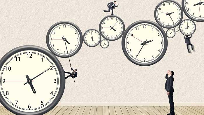 کارهایی که طی روز انجام میدهید و نحوهی تنظیم آنها مشخص کنید