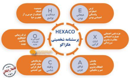 پرسشنامه شش عاملی شخصیت هگزاکو (HEXACO-60)