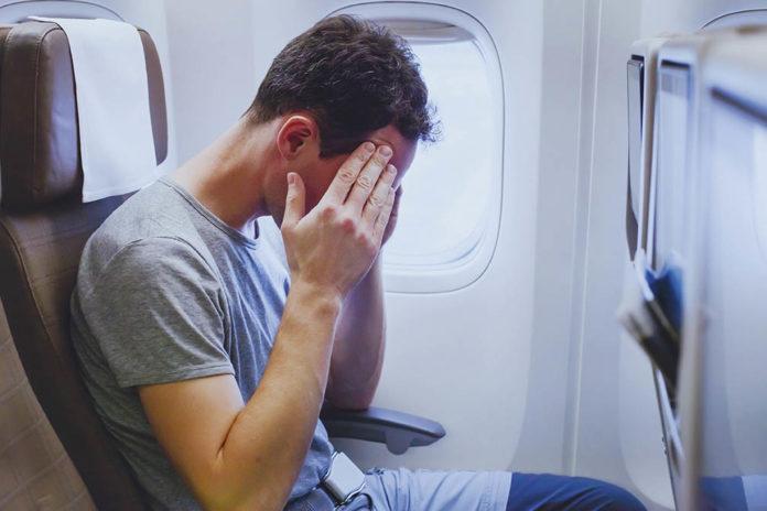۹. اِروفوبیا (Aerophobia) یا ترس از پرواز