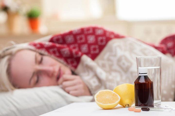 ۵. مبارزه با سرماخوردگی و آنفلوانزا