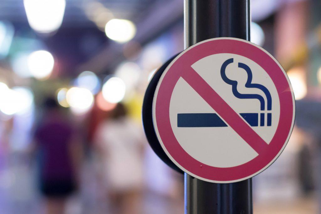 ۵. سیگار نکشید.