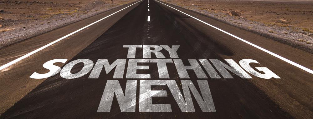 ۷. چیزهای جدید را امتحان کنید.