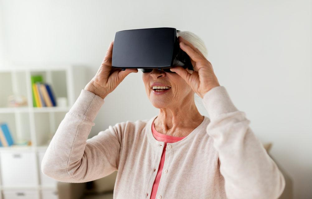 درمان زوال عقل با استفاده از هدست واقعیت مجازی