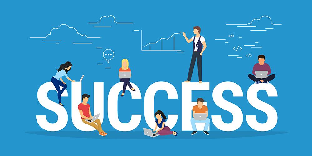 ۱. کارهایی انجام بدهید که منجر به موفقیتتان میشوند.