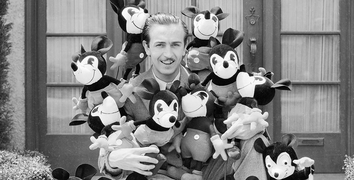 ۴. والت دیزنی (Walt Disney)